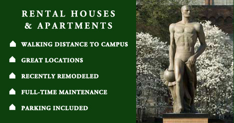 Student Housing, Apartments for Rent East Lansing, Duplexes, rental houses and townhouses for rent in East Lansing
